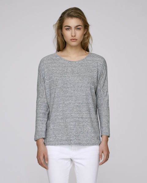 Stella Turns Slub Slub Heather Grey