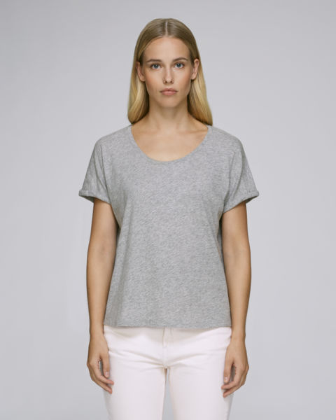 Stella Lazes Heather Grey Slub