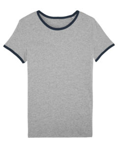 Stella Returns Heather Grey French Navy 4