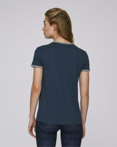 Stella Returns Navy Mid Heather Grey 1